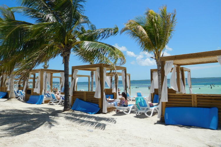 Cabanas on Chill Island - CocoCay