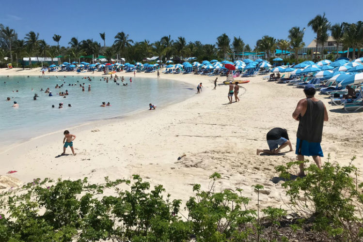 Beach on Chill Island - CocoCay