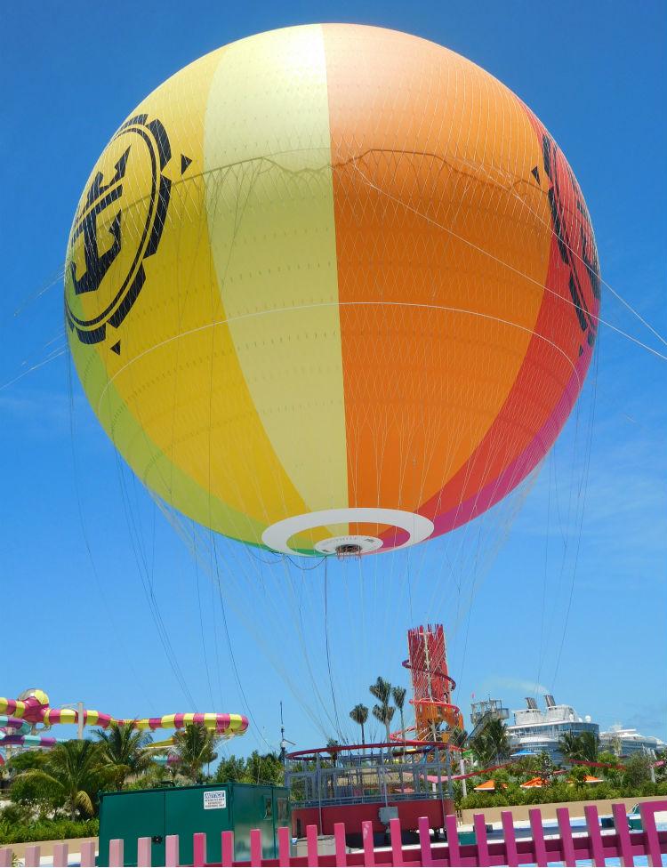 Hot Air Balloon - CocoCay - Royal Caribbean