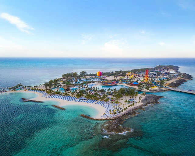 Aerial View of CocoCay