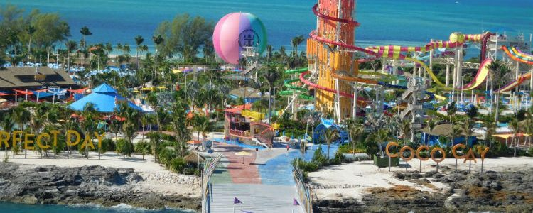 Entrance to CocoCay - Royal Caribbean