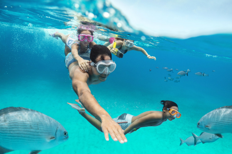 Snorkelling on CocoCay