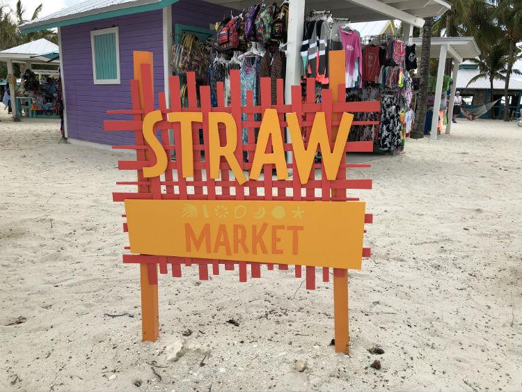CocoCay straw market