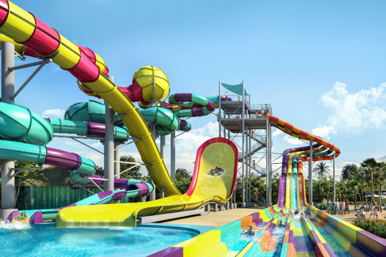 Thrill Waterpark Family Slides