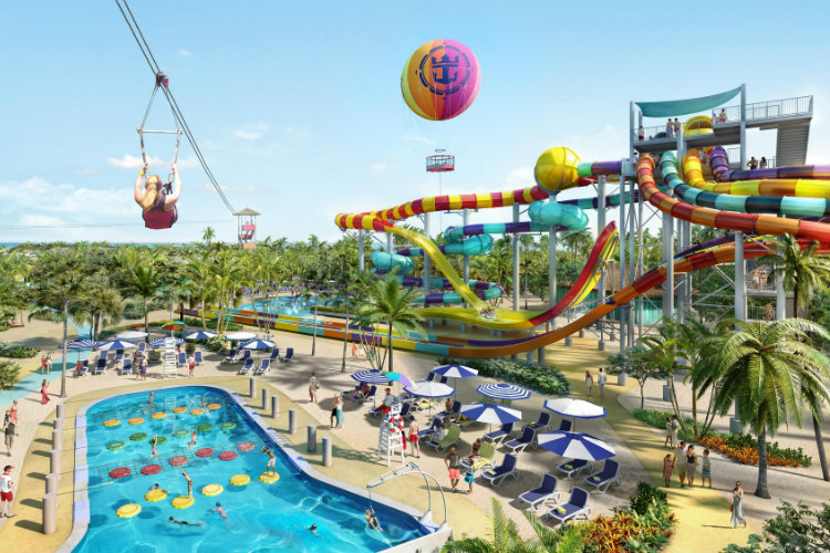 Cococay activities