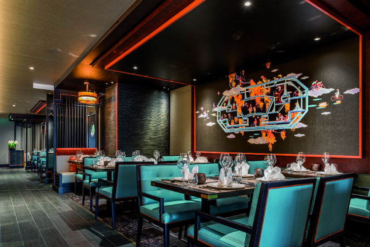East To West Asian Restaurant - Saga Spirit of Discovery