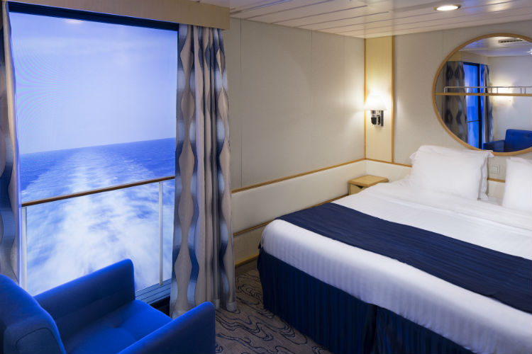 Virtual Balcony - Royal Caribbean
