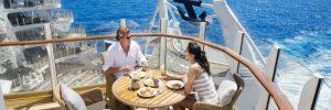 Balcony in AquaTheater Suite - Royal Caribbean
