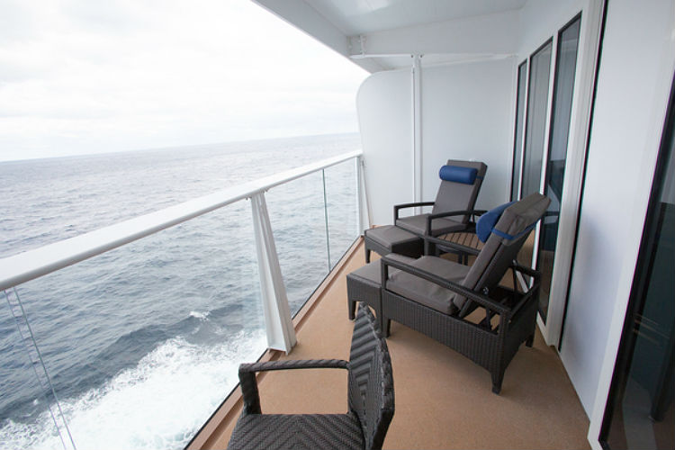 Balcony in the Grand Suite - Royal Caribbean
