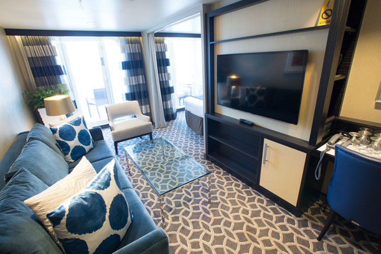 Grand Suite - Lounge Area - Royal Caribbean