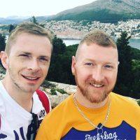 Gavin and Luke - Holidays at Sea
