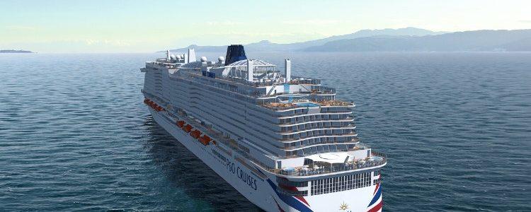 Aft View - Iona - P&O Cruises
