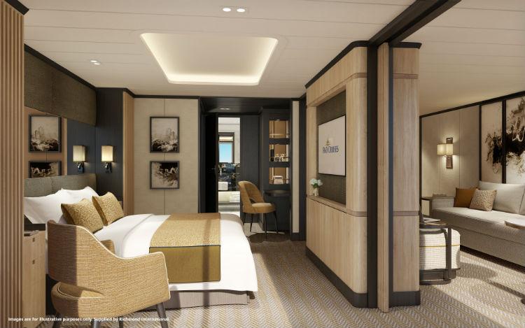 Aft Suite - P&O Cruises