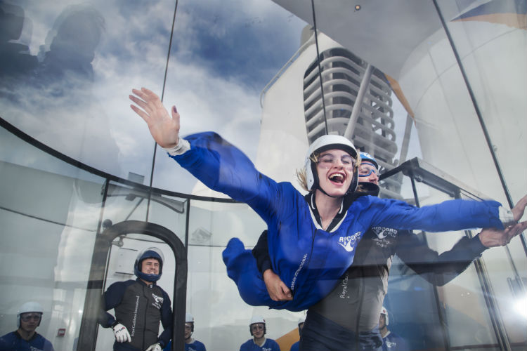 Anthem of the Seas - RipCord by iFLY