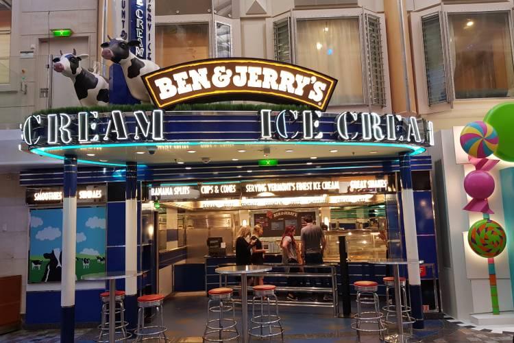 Ben & Jerrys Sweet - Royal Caribbean