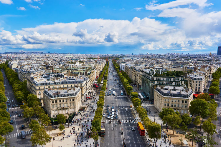 Champs Elysees - Paris, France