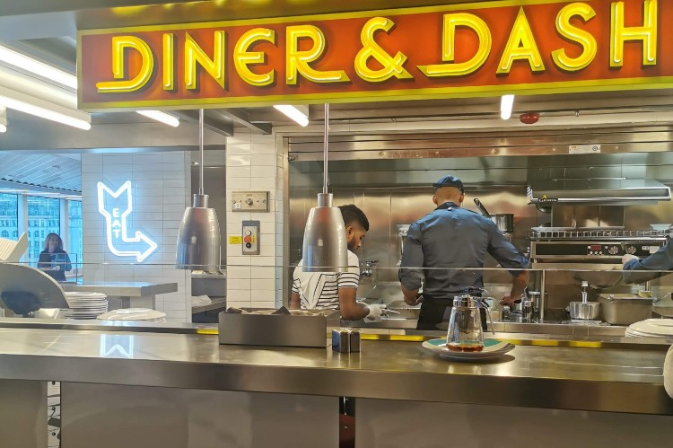 Diner & Dash - The Galley