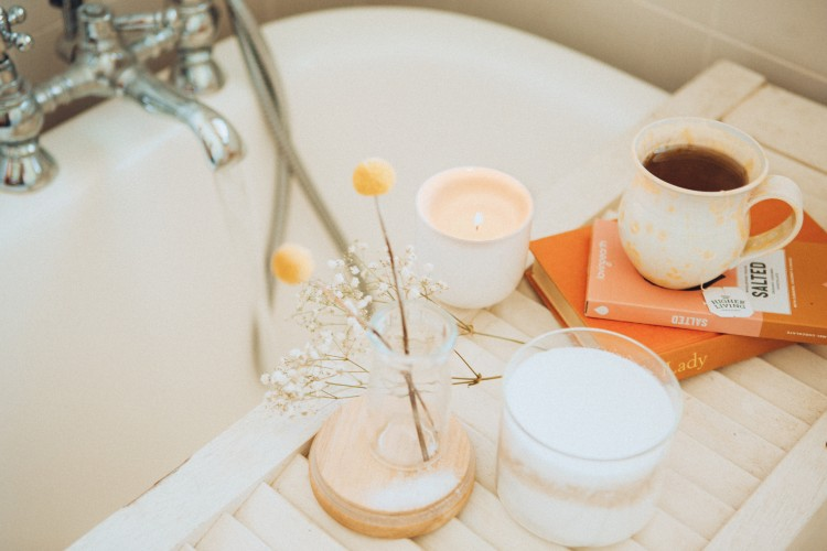 At home spa - Relax in the bath