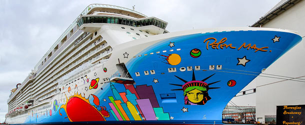 Norwegian Breakaway cruises