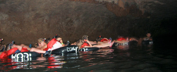 Cruises and caving