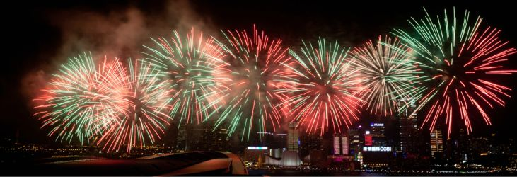 Fireworks displays to see on a cruise