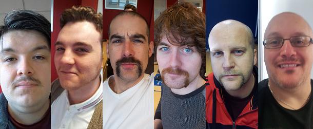 Cruise118 Movember Team