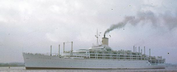 P&O Cruises ship SS Orcades