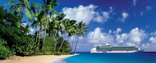 Ship-in-Caribbean