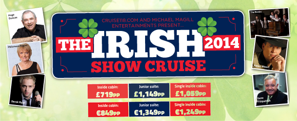 Irish Show Cruise with acts