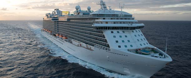 The Royal Princess - star of The Cruise Ship