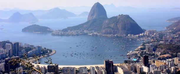 The stunning scenery of Rio de Janeiro