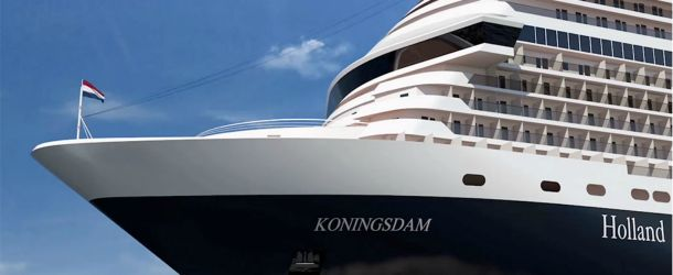 New Holland America ship Koningsdam