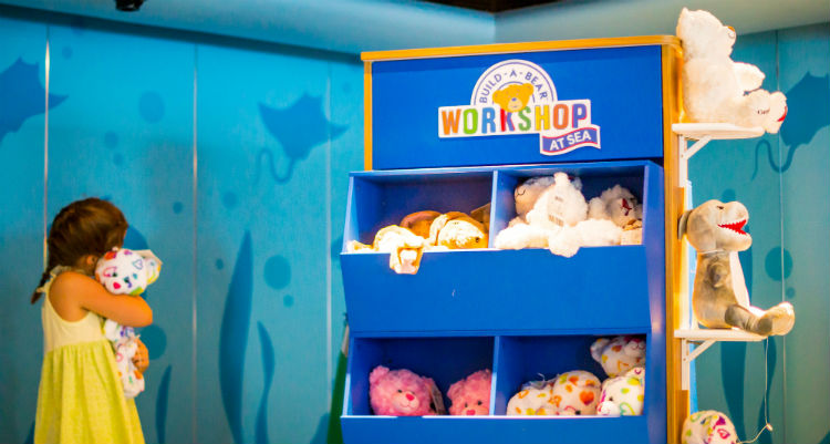 Carnival Cruises - Build-A-Bear Workshop