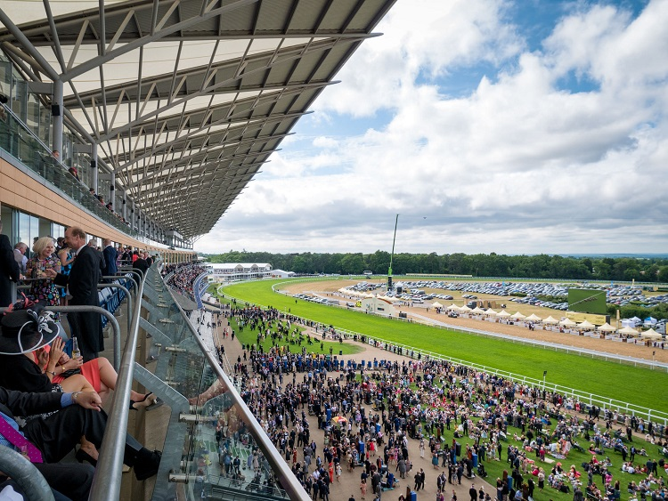 Ascot racecourse ready for its partnership with Cunard cruises