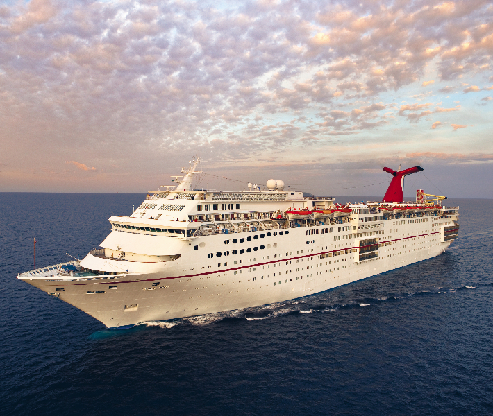 Bird's eye view of Carnival Fascination