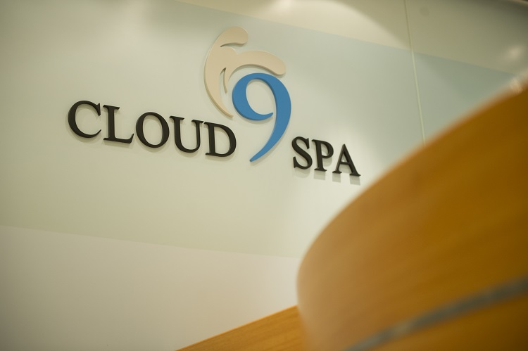 The Cloud 9 Spa on-board Carnival Panorama