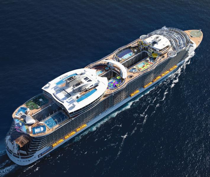 Member of the Royal Caribbean fleet - Harmony of the Seas
