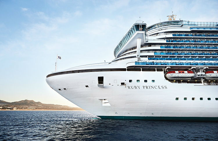 External view of Ruby Princess - A supership in the Princess fleet