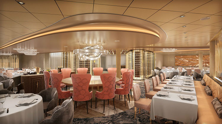 Cosmopolitan restaurant on-board Celebrity Edge