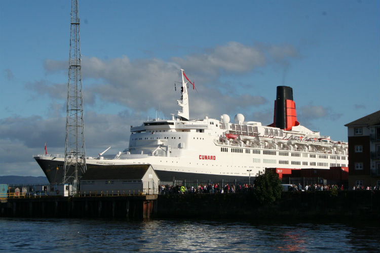 Cunard cruise ship - QE2
