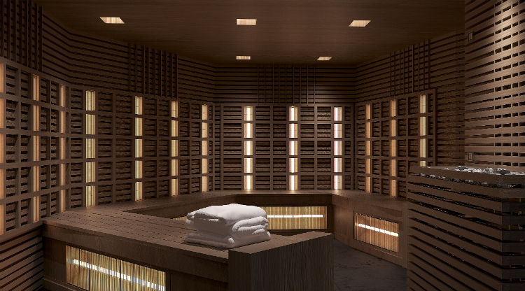 Celebrity Edge - Infrared Sauna
