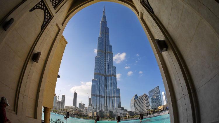 Burj Khalifa, Dubai - Middle East