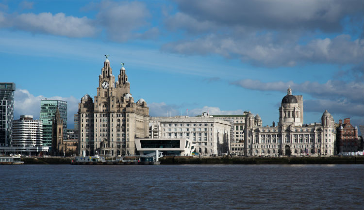 Liverpool cruise dock - UK