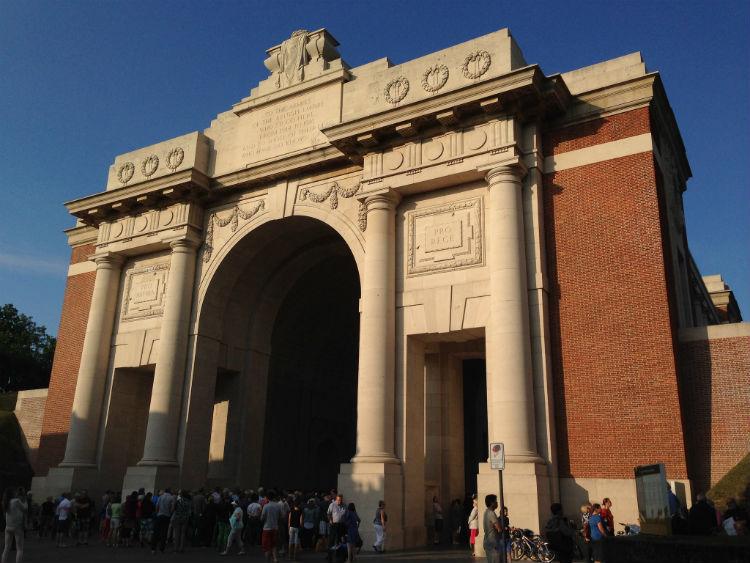 Menin Gate Memorial - Ypres, Belgium