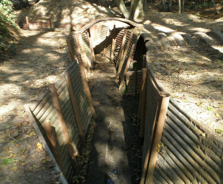 Hill 62 Sanctuary Wood Museum - Ypres, Belgium