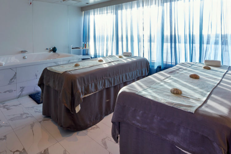 Couple's Therapy Room - Mareel Spa - Cunard