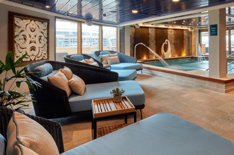 Hydrotherapy Pool - Cunard - Mareel Spa