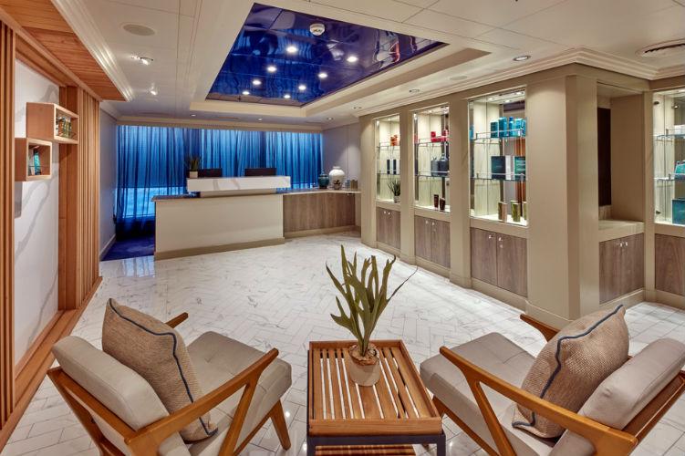 Reception - Mareel Spa on Cunard