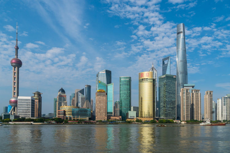 Shanghai, China - Skyline