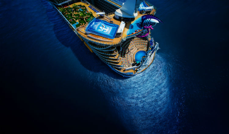 Oasis Class ship - Royal Caribbean